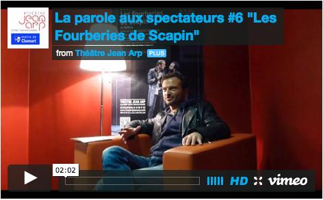 « La Parole aux spectateurs » /  Théâtre Jean Arp-scène conventionnée de Clamart