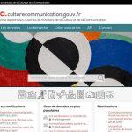 Lancement de la plateforme Open Data du Ministère de la Culture