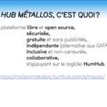 Restitution Café TMNlab : le Hub Métallos