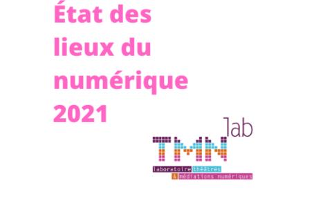 Restitution Café TMNlab – État des lieux  2021 du numérique dans le spectacle vivant et les arts visuels