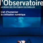 Revue : «L'art d'humaniser la civilisation numérique»